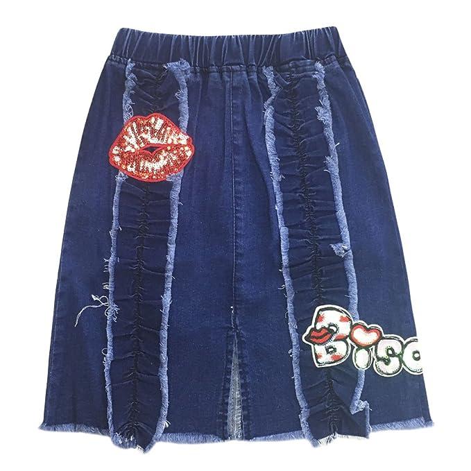 Falda elástica para niña da51cdd46b93