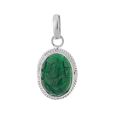 Buy astrology paradise silver emerald ganesh pendant online at low astrology paradise silver emerald ganesh pendant aloadofball Images