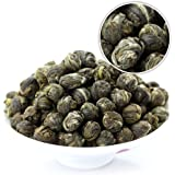 GOARTEA 250g (8.8 Oz) Organic Premium Jasmine Dragon Pearl Ball Loose Leaf Chinese Green TEA ON SALE