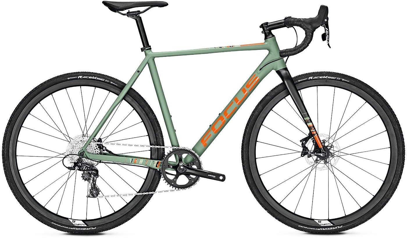 Focus Mares 6.9 Bicicleta de Cross 2019, Color Mineral Green, tamaño L/56cm, tamaño de Rueda 28.00: Amazon.es: Deportes y aire libre