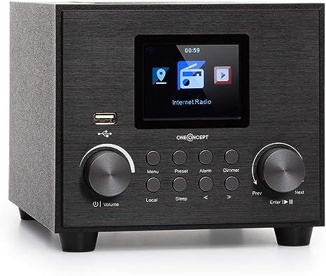 Oneconcept Streamo Cube Internetradio Radioempfang Per Elektronik