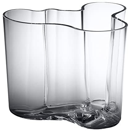 Amazon Iittala Aalto 6 14 Inch Glass Vase Home Kitchen