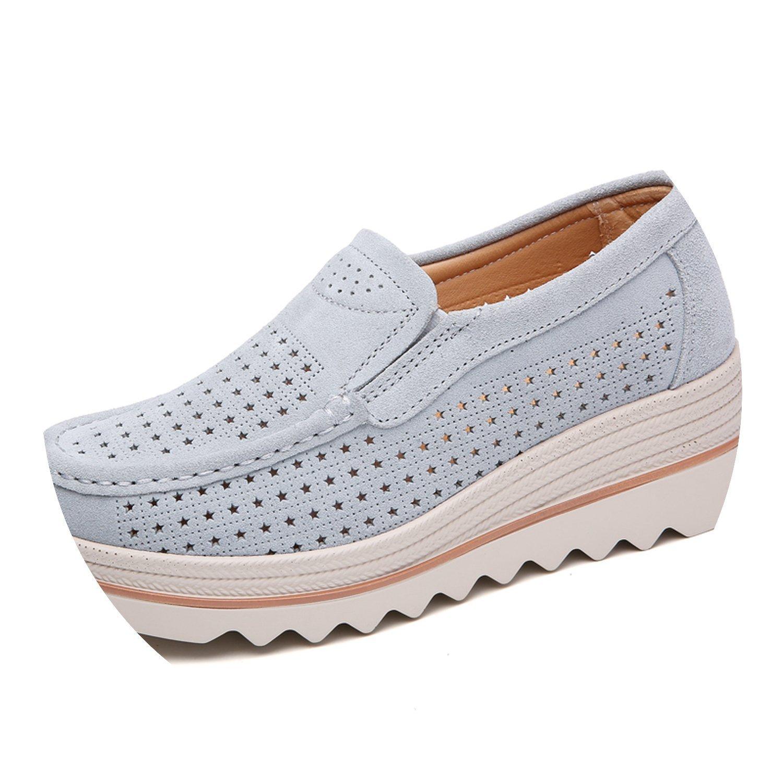 homme / femme de 2018 automne femmes flats chaussures souliers mocassins plate - forme de baskets mocassins souliers 3088 le plus commode glisseHommes t sensible et chaussures gv26559 polyvalent 3e88b6