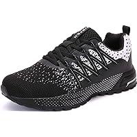SOLLOMENSI Zapatillas de Deporte Hombres Running Zapatos para Correr Gimnasio Sneakers Deportivas Padel Transpirables…