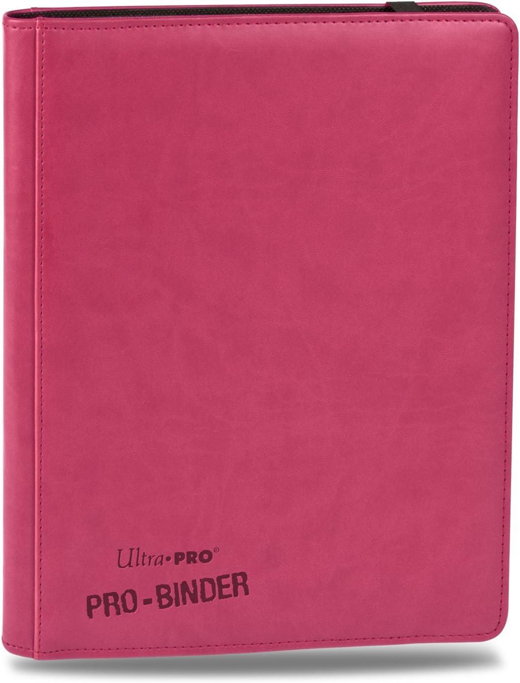 ULTRA PRO 9 Pocket PREMIUM LEATHERETTE Negro carpeta de almacenamiento de tarjeta de 360 20 páginas