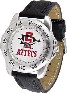 Linkswalker Mens San Diego State Aztecs Sport Watch