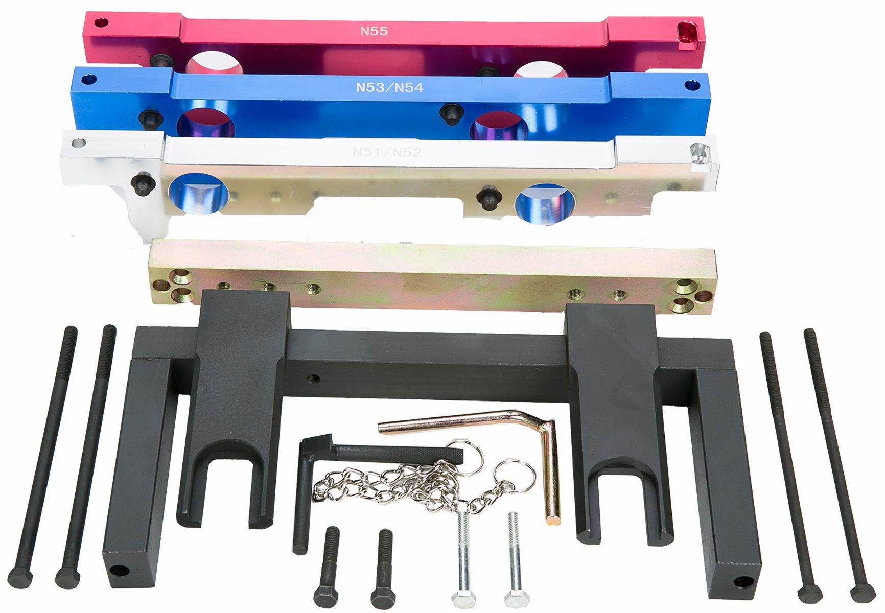 8milelake Engine Camshaft Timing Locking Tool Compatible For Bmw N51 325xi Belt N52 N53 N54 N55 Sz Tools Automotive Tibs