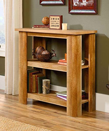 Slim Console Table Media Wood Decor Tall Rustic Thin Storage Log Stand Top  Portable TV Bar