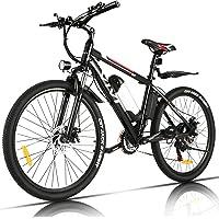 Vivi Bicicleta Eléctrica 350W, Bicicleta Eléctrica Montaña con Batería Extraíble de 36V/8Ah, Engranajes de 21…