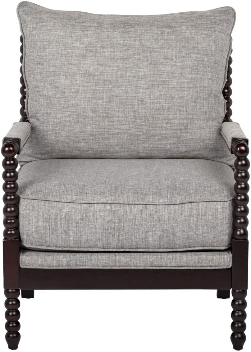 Offex Home Office Home Colonnade Spindle Accent Chair Grey