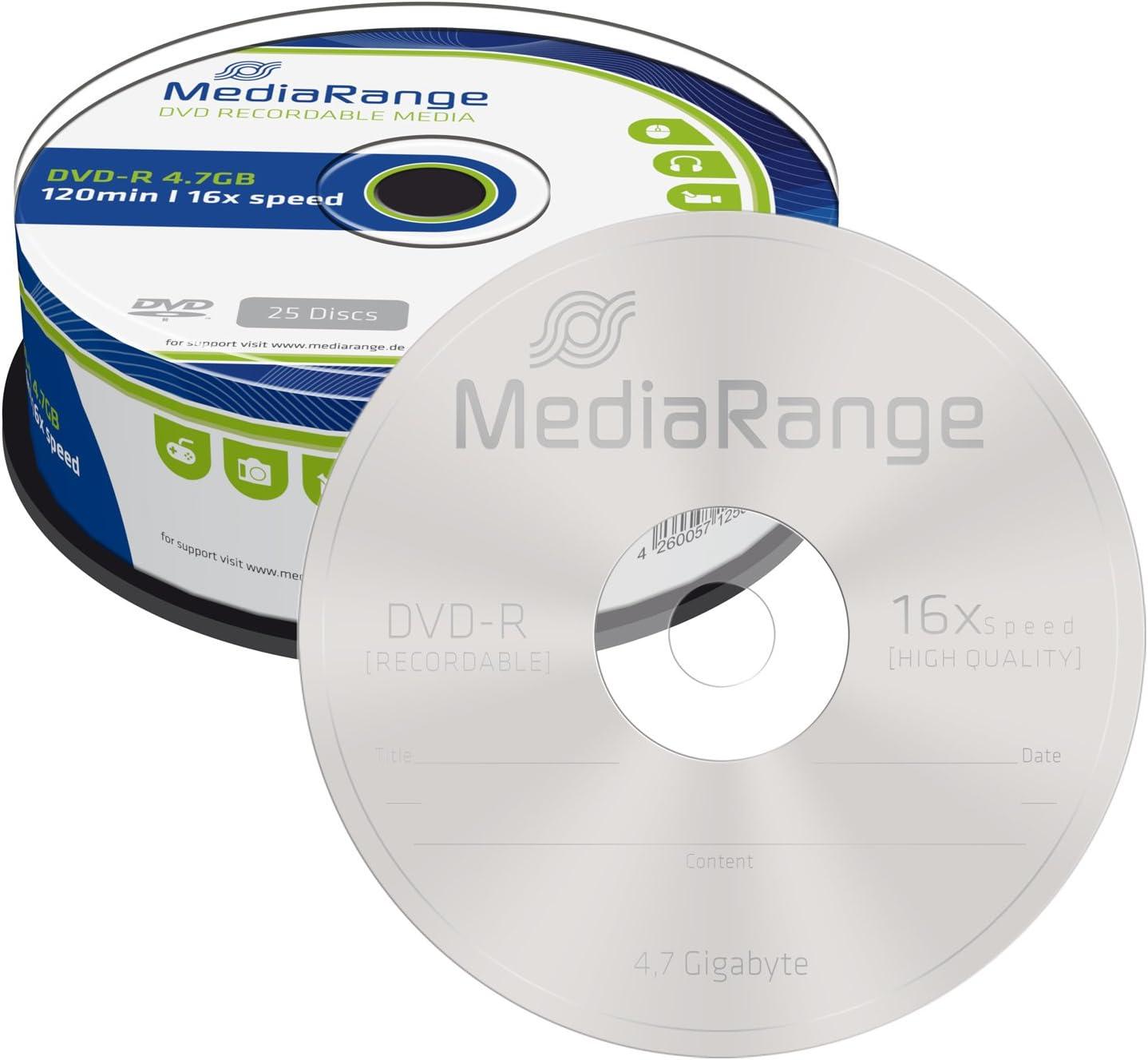 Mediarange Mr403 Dvd R 4 7gb Computer Zubehör