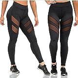 Yixinan Fitness mesh Yoga pants for women