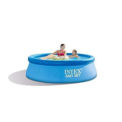 Intex 8ft X 30in Easy Set Pool Set with Filter Pump: Garden & Outdoor