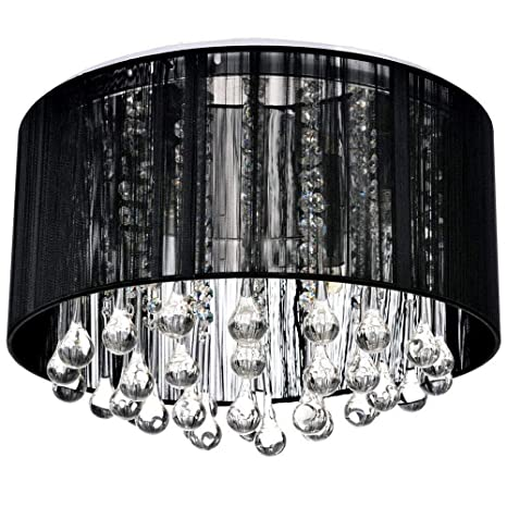 Simple y Agraciado Lámparas colgantes 4 piezas- Cristal ...