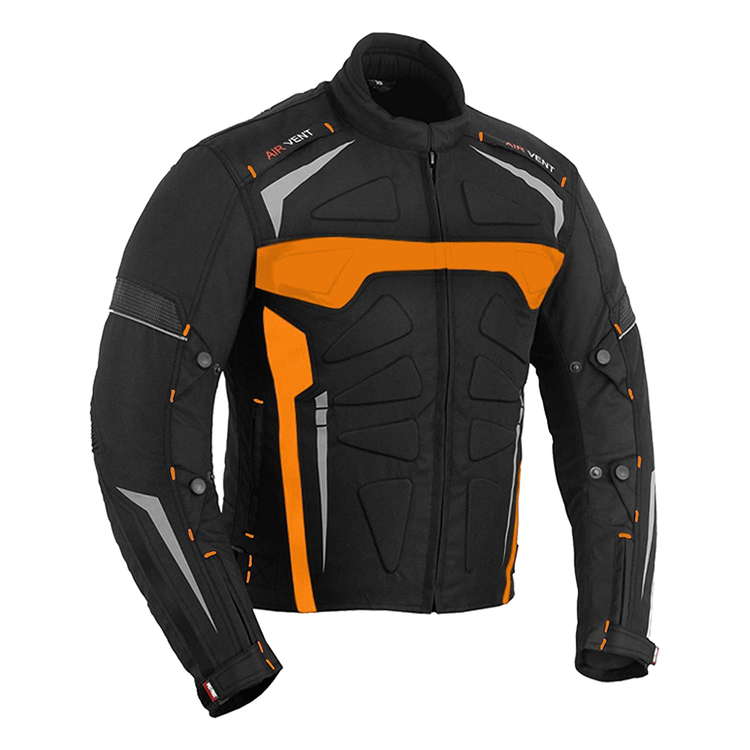 Motorbike Jackets Motorcycle Bike Rider Waterproof High Quality Designer Coat Shirt Gears Bartack Sewed All Weather Jacket for Mens Adults Boys 2X Large