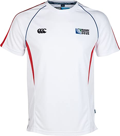 Canterbury Rugby Copa Del Mundo Winger camiseta blanco: Amazon.es: Deportes y aire libre