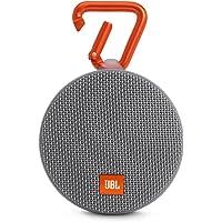 JBL Clip 2 Taşınabilir Bluetooth Hoparlör, Gri