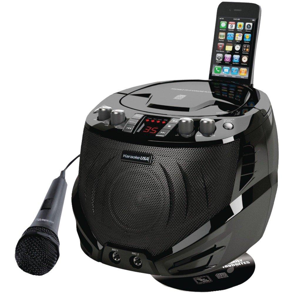 Karaoke USA GQ262 Portable CD+G Karaoke Player