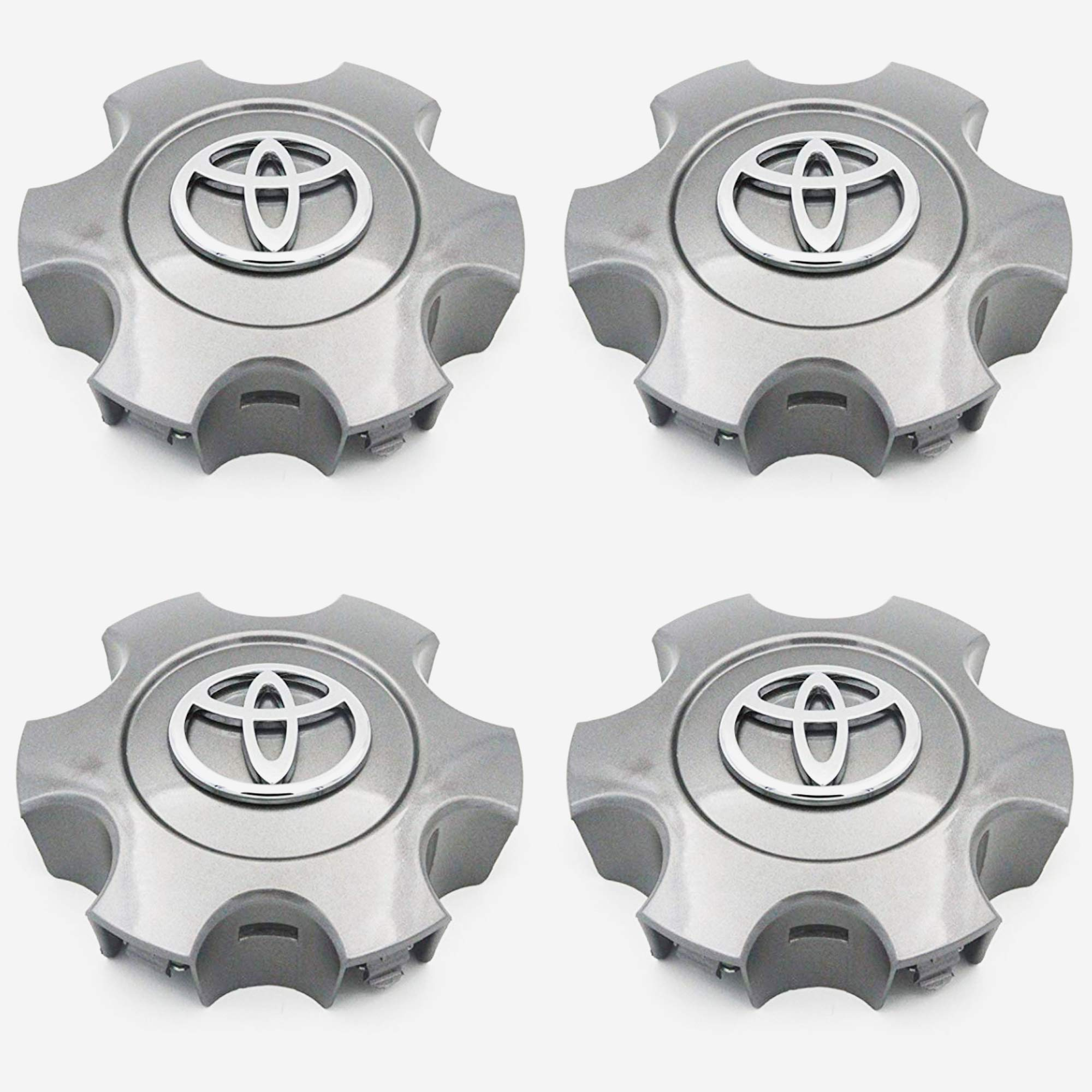 FCT Replacment 2003-2006 Tundra 03-07 Sequoia Wheel Center caps hubcaps Set of 4 by FCT