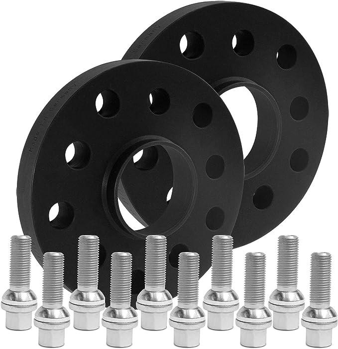 Blackline Spurverbreiterung 40mm 20mm Mit Schrauben Silber 5x112 66 5mm 12436w 5 Xv1415ku503 Auto