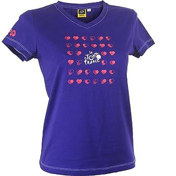 Tour de France TDF-ZA-3012 Camiseta, Azul, FR : S (