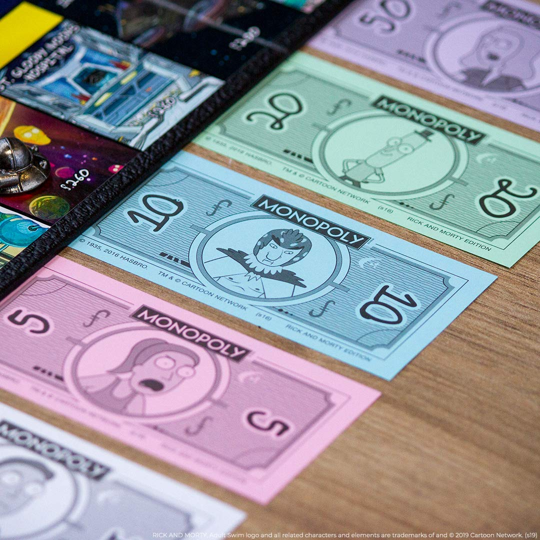 Monopoly: Rick and Morty: Amazon.es: USAopoly: Libros en idiomas extranjeros