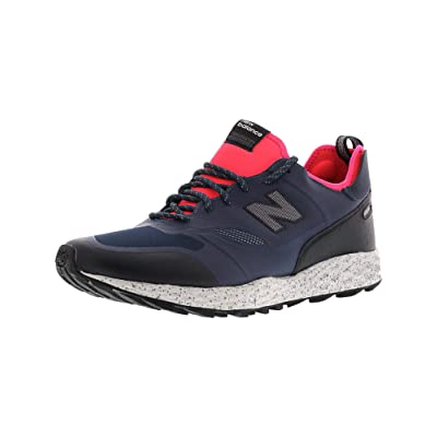 New Balance - Mens MFLTBV1 Lifestyle Shoes, Size: 9 D(M) US, Color: Navy/Pink | Fashion Sneakers