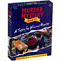 Murder Mystery Party Game-A Taste For Wine & Murder