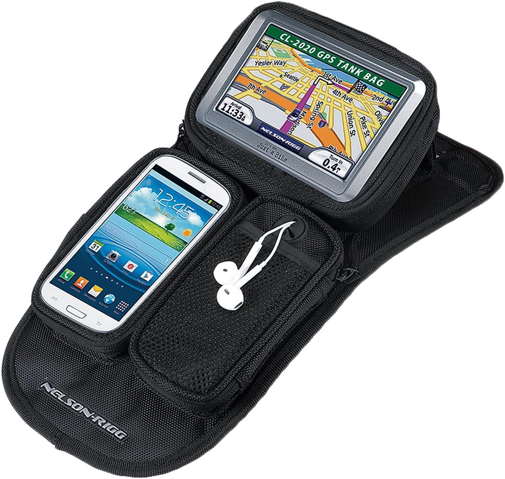 Nelson-Rigg Black Magnetic Mount Journey GPS Mate}