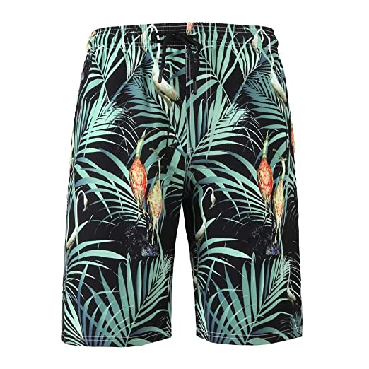 15fb089004 Image Unavailable. Image not available for. Color: Simayixx Bathing Suits  Mens 3D Printed Funny Swim Trunks Quick Dry Beachwear Sport Running Swim  Board