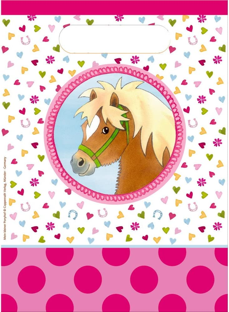 Personnalisé anniversaire invitations équitation poney fête x 5