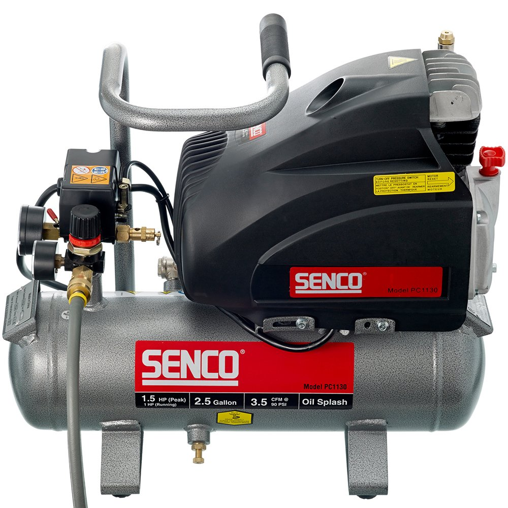 Senco PC1130 Compressor, 1.5-Horsepower (PEAK) 2.5-Gallon