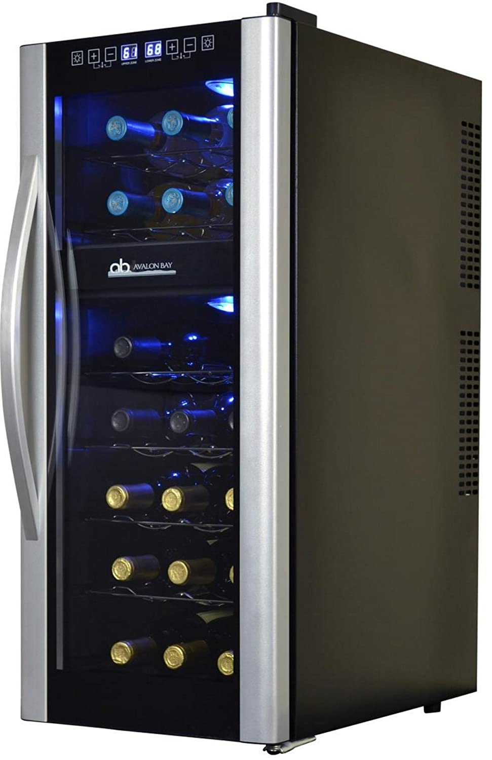 Avalon Bay AB-WINE21DS 21 Bottle Dual Zone Wine Cooler NewAir