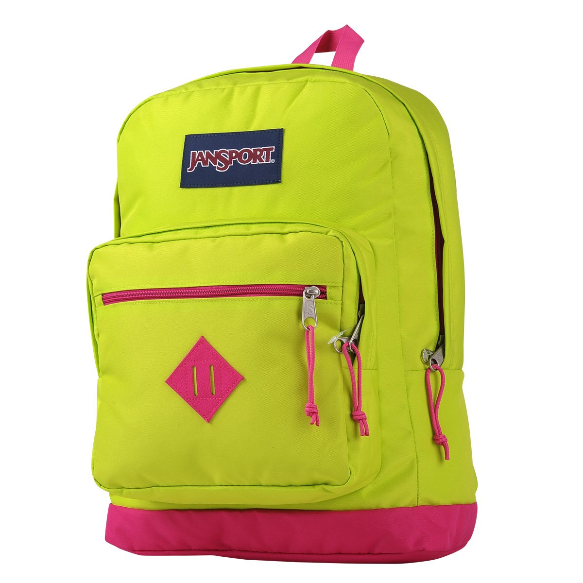 Lime Green Backpack Jansport - CEAGESP b861fae00