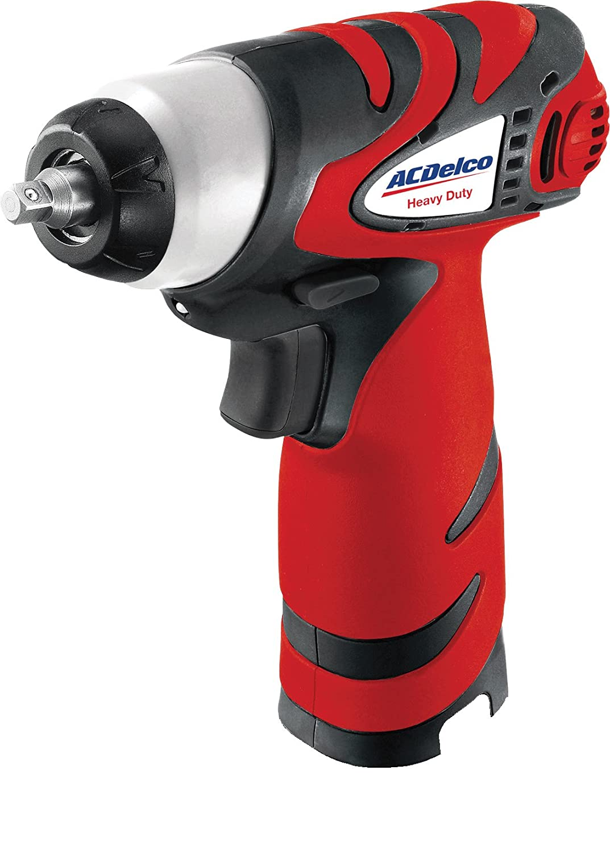 66 ft-lbs Bare Tool ACDelco ARI810-2T Li-ion 8V 1//4-inch Impact Wrench