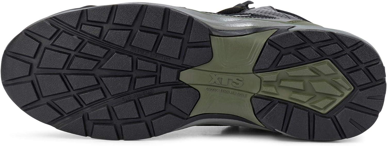 ALBATROS 636220 ULTRATRAIL OLIVE CTX MID S3 ESD WR HRO SRC Sicherheitsschuhe Arbeitsschuhe schwarz//oliv 39 schwarz//oliv