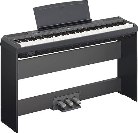 Piano digital Yamaha P-115B + Soporte + Pedales