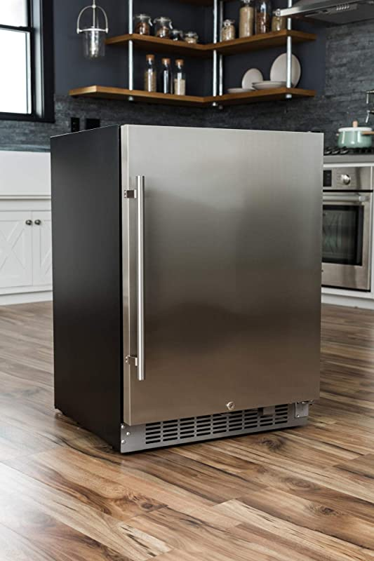 EdgeStar CBR1501SLD 5.49 Cu. Ft. EdgeStar 142 Can Built-in Stainless Steel Beverage Cooler review
