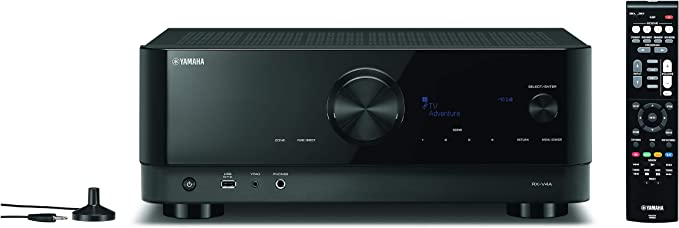 Amazon.com: YAMAHA RX-V4A 5.2-Channel AV Receiver with MusicCast: Electronics