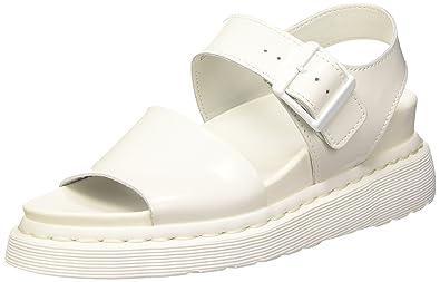 Dr. Martens Gryphon Softyy, Sandales Bride Cheville Mixte Adulte, Blanc (White), 38 EU