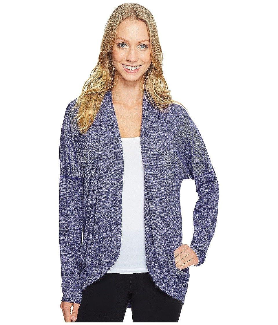 61086b4225 Lucy Women s Enlightening Wrap Micro Stripe Pure Indigo Micro Stripe Shirt   Amazon.in  Clothing   Accessories