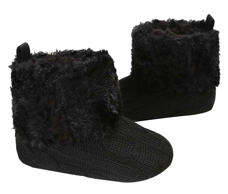 Seipe Newborn Baby Girl Boy Non-Slip Soft Sole Shoes Skid Bottom Snow Boots