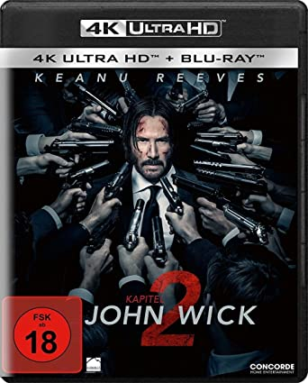 John Wick Kapitel 2 4k Ultra Hd Blu Ray 2 Disc Version Amazonde