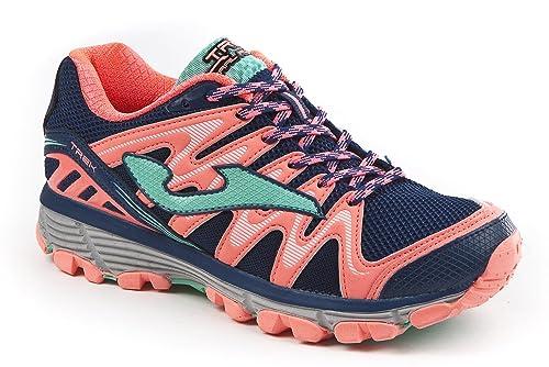 JOMA Trek Lady, Zapatillas de Running para Asfalto para Mujer, Azul (Navy)