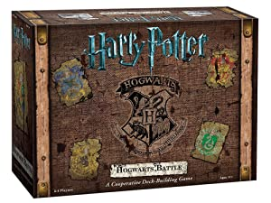 Harry Potter Hogwarts Battle Cooperative Deck Building Card Game | Official Harry Potter Licensed Merchandise | Harry Potter Board Game | Great Gift for Harry Potter Fans | Harry Potter Movie artwork