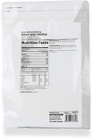 myprotein impact whey protein 1kg RRP£19.99 NEXT DAY **BANANA**
