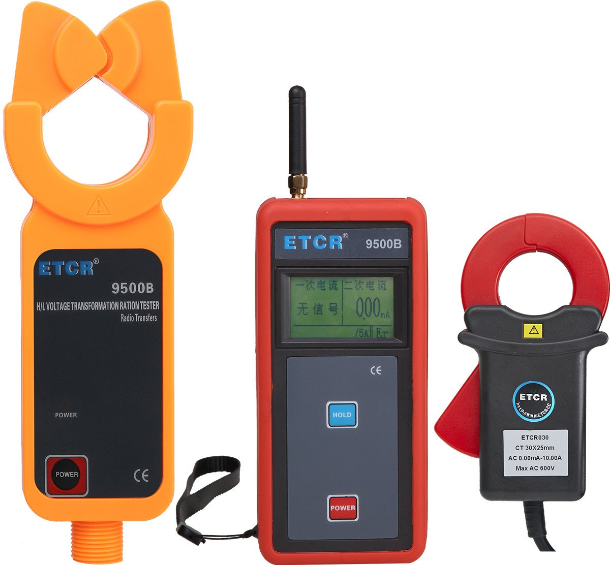 ETCR9500B Wireless High Voltage Current Transformer Ratio Tester