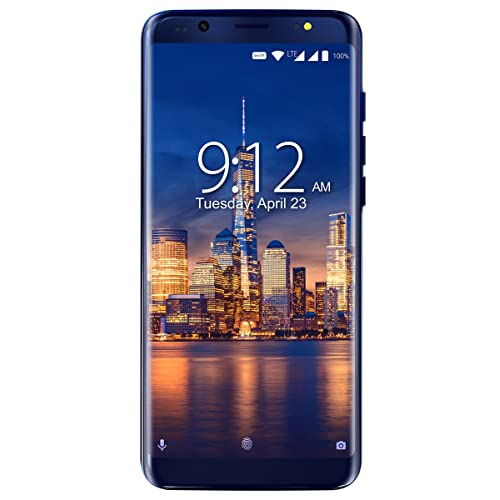 """NUU Mobile G3 5.7"""" 64GB Unlocked Android Cell Phone - 4GB Ram Dual-SIM GSM 4G LTE - Dual Camera 13 MP Fingerprint ID Fast Charge"""