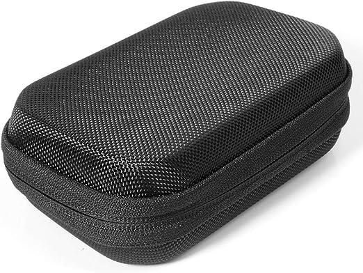 Mesh Accessories Pocket and Detachable Wrist Strap CaseSack Portable Speaker Case for Jabra Tour Bluetooth in-Car Speakerphone and GGMM E2 Portable WiFi Bluetooth Speaker