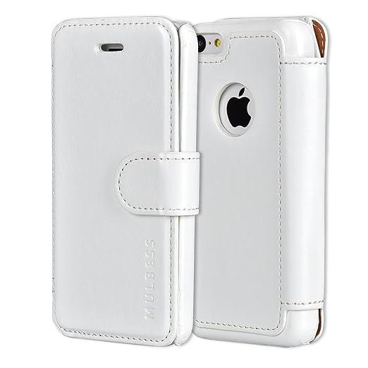 376 opinioni per Custodia iPhone 5c- Cover iPhone 5c- Mulbess Custodia In Pelle Con Flip Cover